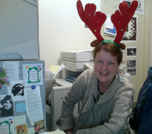 Me, with antlers.