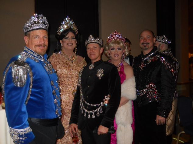 Members of the Imperial Court at last year's Night of a Thousand Gowns