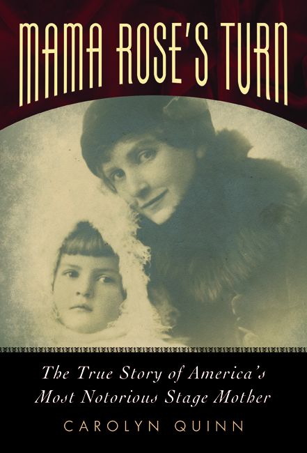 Newly updated cover design of MAMA ROSE'S TURN