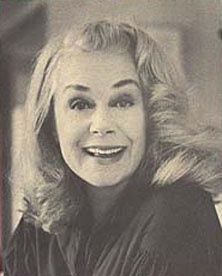 June as an adult, who was still performing and a respected actress.