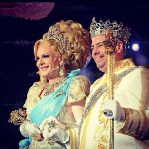 Twinkle Montgomery and Tony Monteleone, The Imperial Court of New  York's new Empress and Emperor.