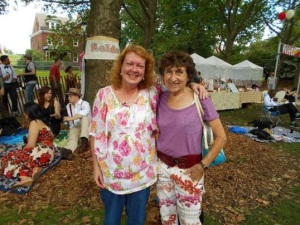 Me with Johanna Reiss at the Great Jazz Age Lawn Party