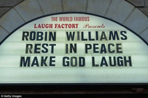 Splendiferous tribute to Robin Williams by The Laugh Factory