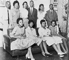 The Little Rock 9, who braved endless harassment to integrate Central High School in Little Rock, Arkansas in the 1950's
