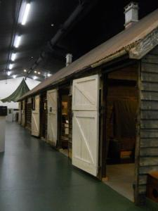 The actual stables where the unit was billeted in England.