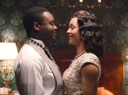 Egregiously overlooked: David Oyelowo and Carmen Ejogo in SELMA.