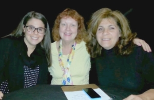 Annie Weiss, Me and Lisa Dascoli on TALK OF THE TOWN!