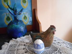 The incredible egg from Holland owned by author Johanna Reiss