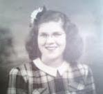 My mother, Mary Yoerger, at about the time of the first plane crash in 1951.