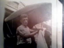 My grandfather, Teddy Yoerger.