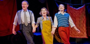 Peter Davison, Imelda Staunton and Lara Pulver strut their stuff in the UK production of GYPSY.