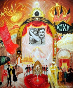 """Cathedrals of Broadway"" by artist Florine Stettheimer.  Wow!"