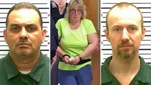 What a group!  Escaped killers Richard Matt, David Sweat, and the world's dumbest accomplice Joyce Mitchell.