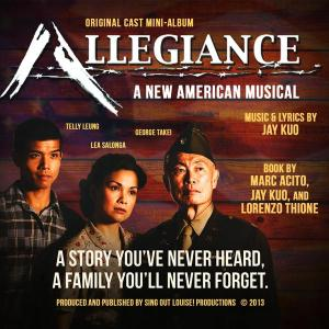 ALLEGIANCE, a new musical opening soon on Broadway.