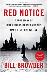 RED NOTICE by Bill Browder: I can't put it down!