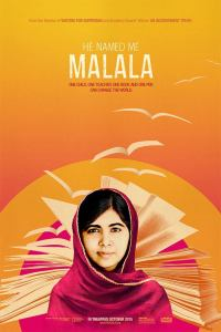 Coming soon to theaters everywhere: HE NAMED ME MALALA