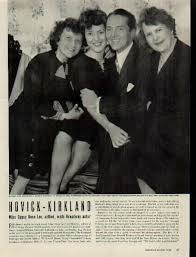 Wedding Day at Witchwood Manor, 1942: Rose Hovick, Gypsy Rose Lee, William Alexander Kirkland, and his mother.