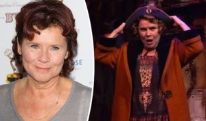 Imelda Staunton, the actress who looks the most like the real Rose.