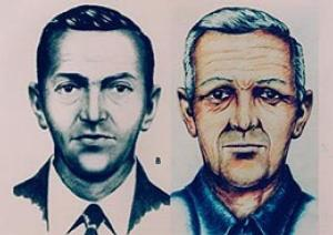 Age-enhanced photo of D.B. Cooper.  Look closely...have you seen this man?