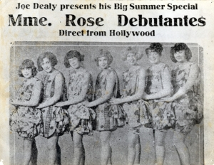 Gypsy Rose Lee is on the far right.  These were the girls in the act.