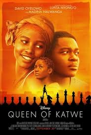 Poster for the new Disney hit, QUEEN OF KATWE.