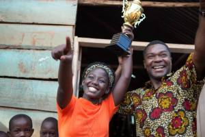 Madina Nalwanga and David Oyelowo light up the screen - and the world - in QUEEN OF KATWE.