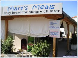 Mary's Meals provides nutrition at school for impoverished children.