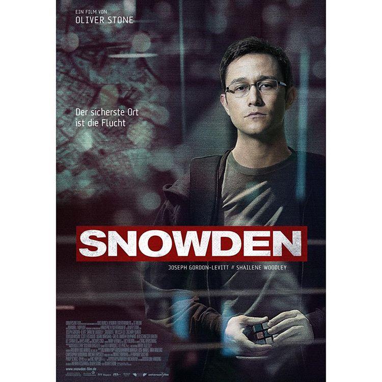 SNOWDEN the movie.