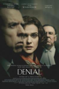 DENIAL, starring Rachel Weisz.