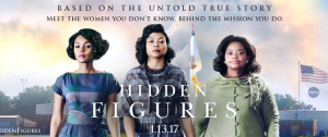 Janelle Monae, Taraji P. Henson and Octavia Spencer star in HIDDEN FIGURES.